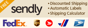 Sendly enhances the shipping section of your Shopify store. You get discounted shipping, real-time carrier calculated rates, and free shipping labels.