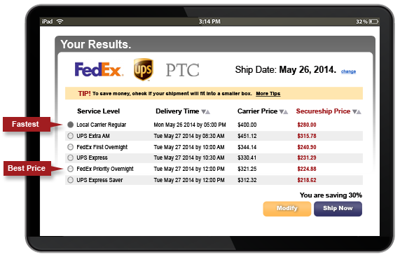 Shipping Rate Calculator - Get Instant Shipping Estimates