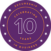 Secure ship celebrates 10 years in business today