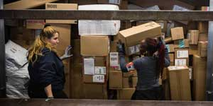 Shipping delays are expected as people look to shipping during time of covid