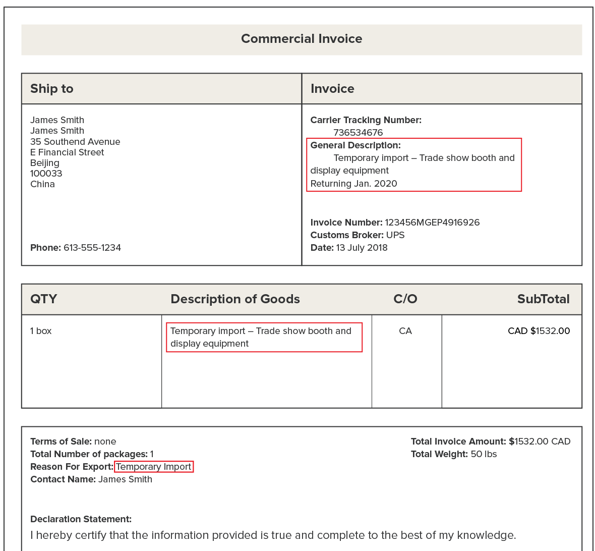 Guide to Shipping From Canada to China - Costs, Document